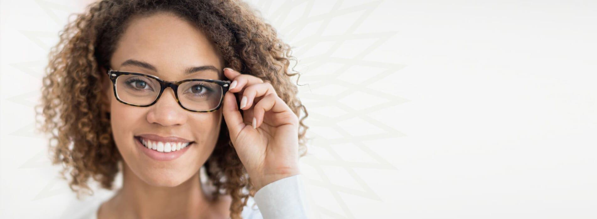 Lady Wearing Glasses